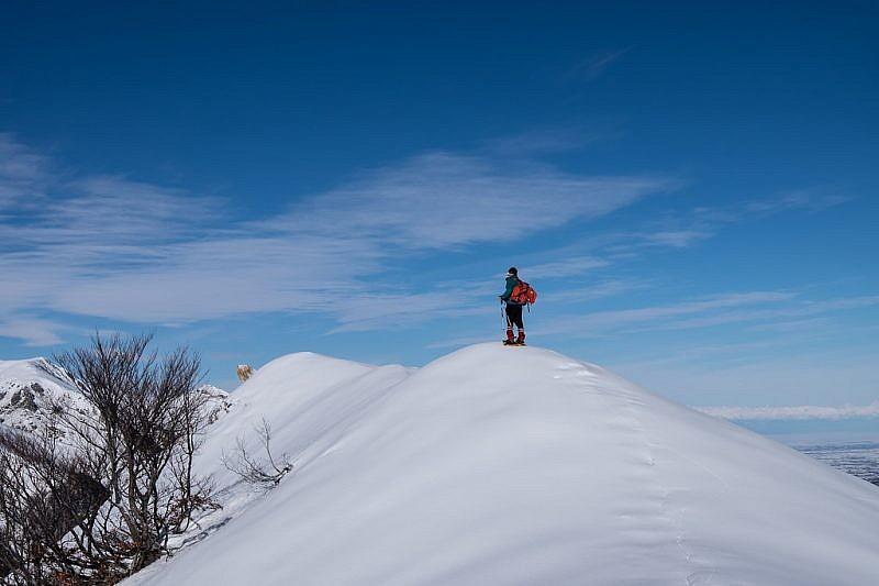 A pochi passi dalla cima
