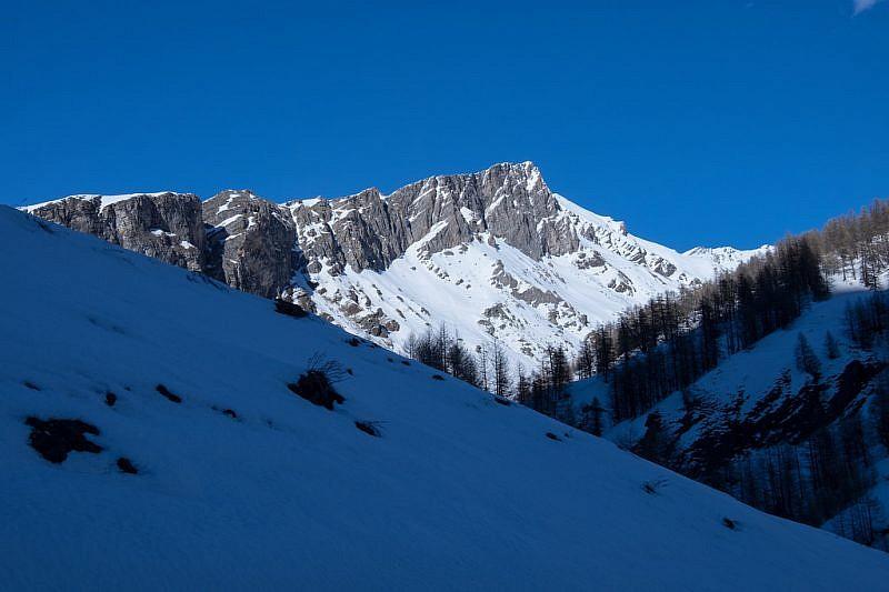 I monti della costa Ciais