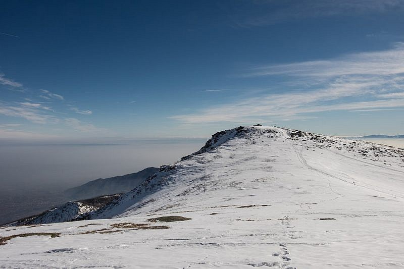 Dal colle Selassa, ultimo tratto di salita alla cima omonima
