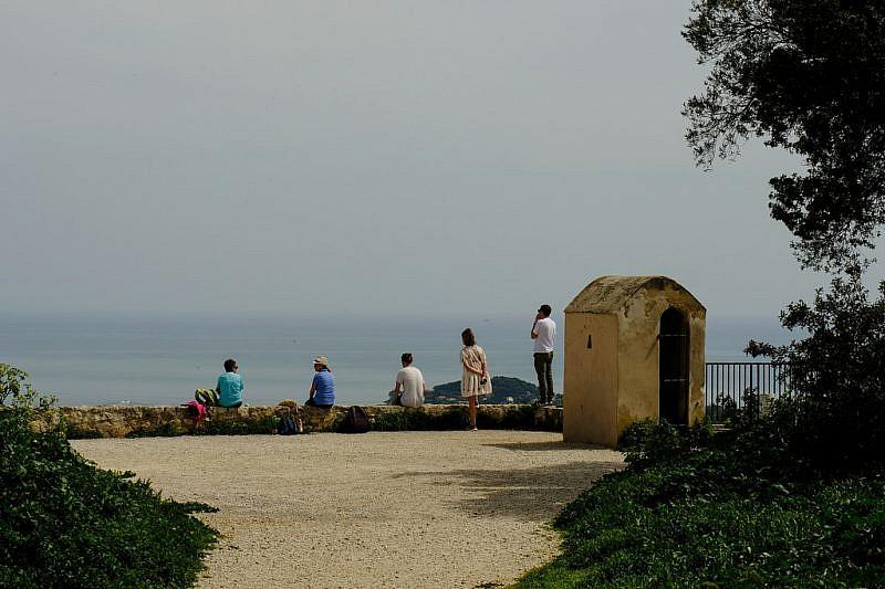 Balconata panoramica verso Villefranche e Cap Ferrat