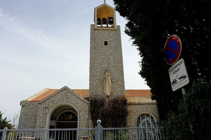 L'eglise Notre Dame de France