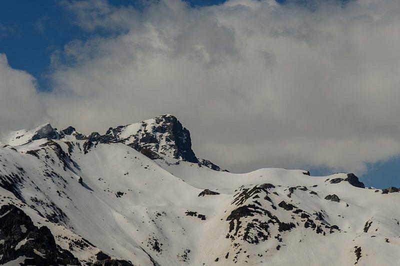 Veduta sul monte del Frisson