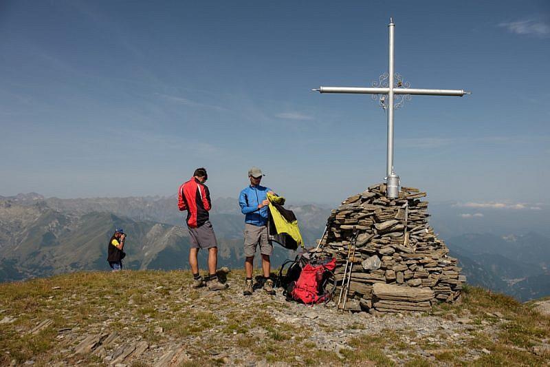 Chi va in montagna sa che gli strati si mettono, tolgono, mettono, tolgono…