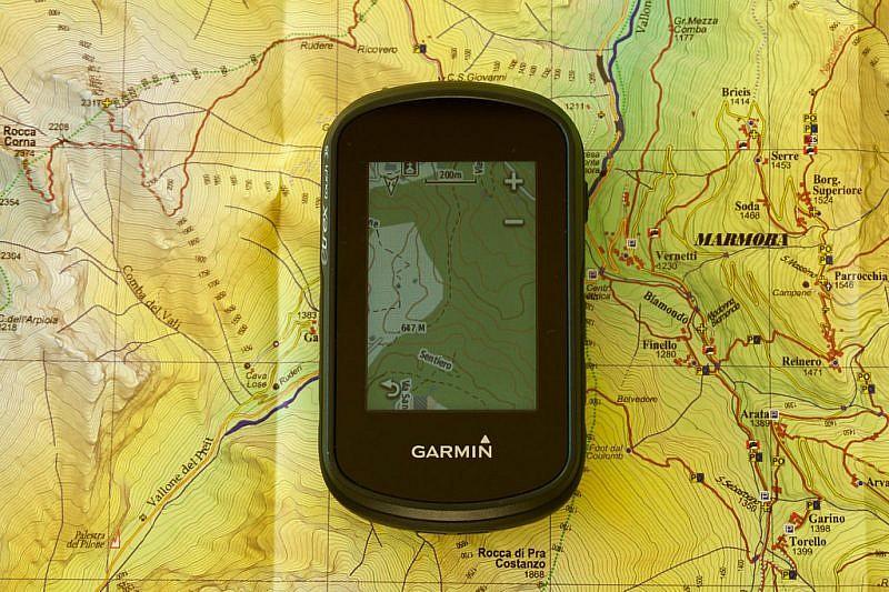 Un GPS Garmin: l'eTrex Touch 35