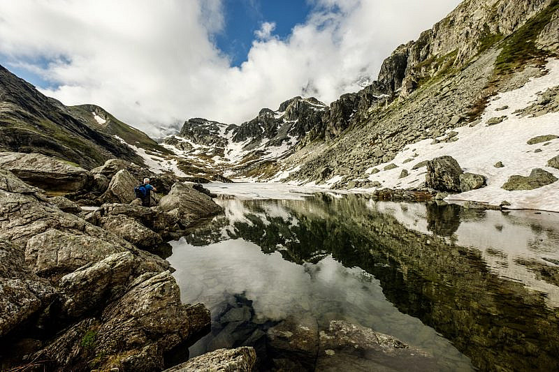 Arrivo al lago Fiorenza