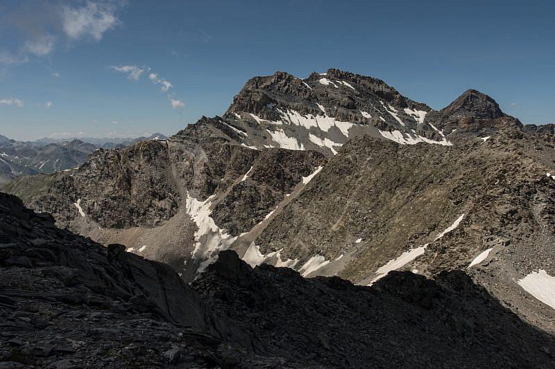 Monte Salza e Mongioia (a destra)