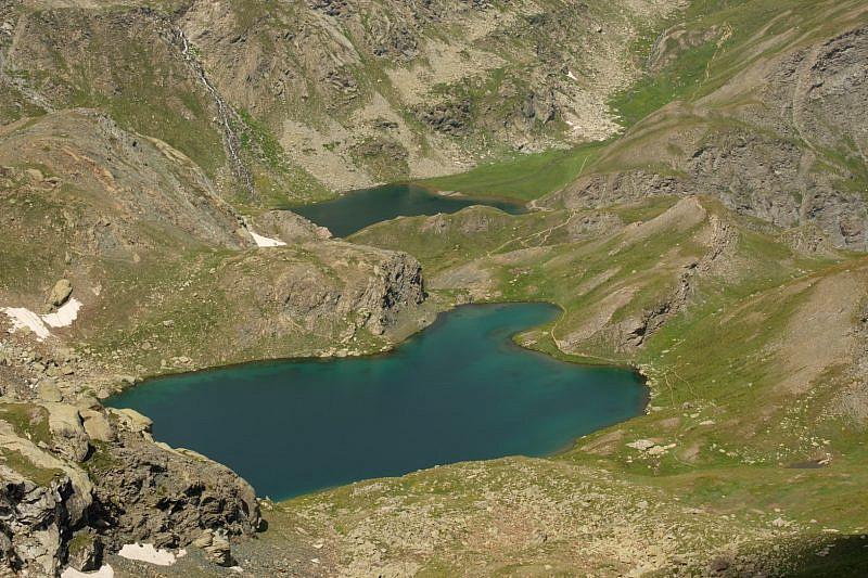 Lago Nero e lago Bleu