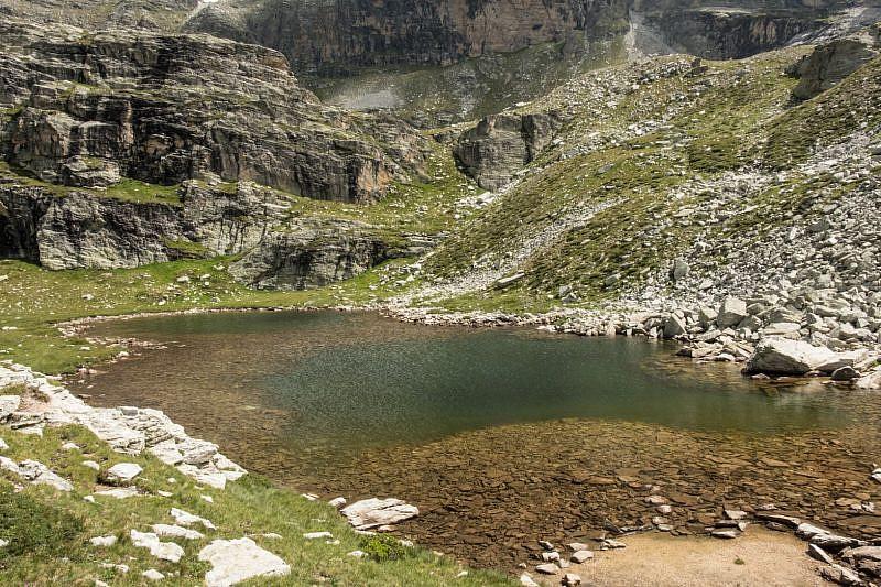 Parziale veduta del lago