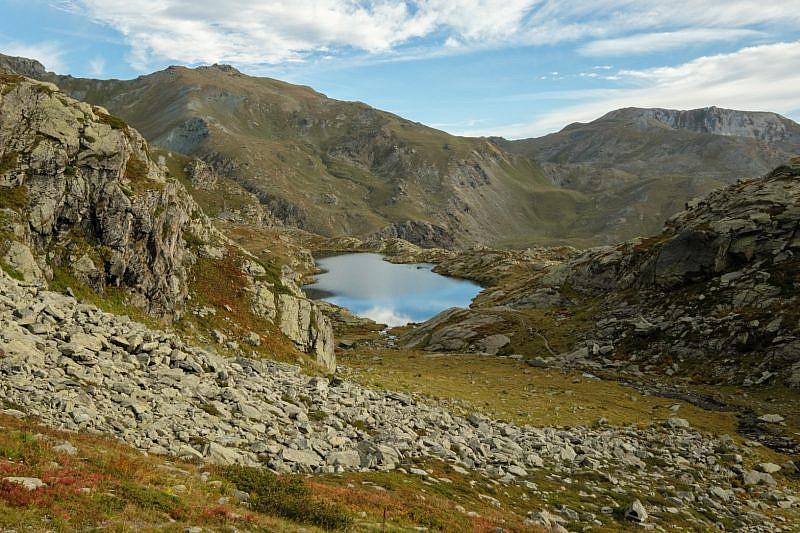 Lago Superiore, salendo al Giacoletti
