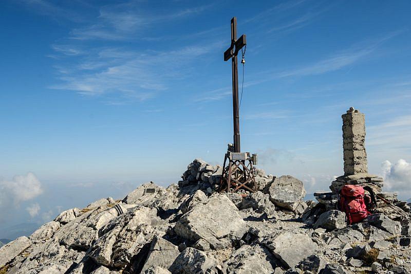 Cima del monte Mongioie