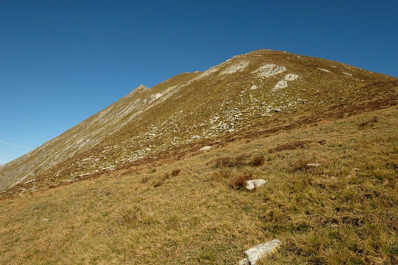 Monte La Bianca dal colle