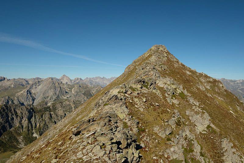 Ultimo tratto per raggiungere il monte La Bianca