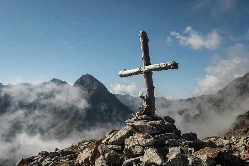 Croce lignea sul Ciastella