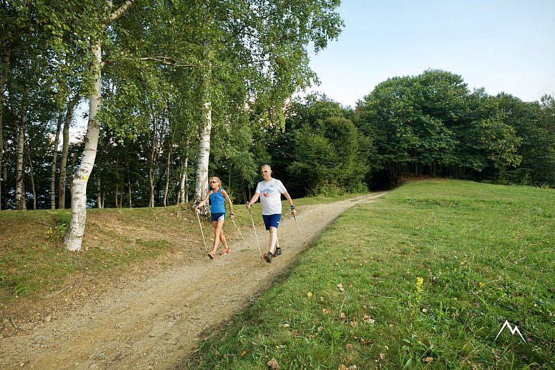 Nordic walking al Prato del Soglio di Boves