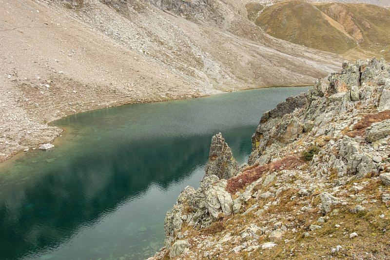Lago mediano di Roburent