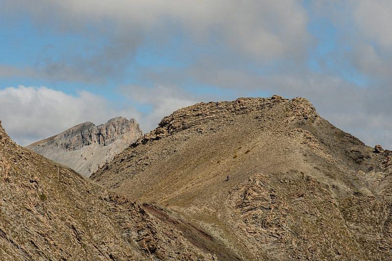 Il colle Ventasuso e la cima Vallonetto