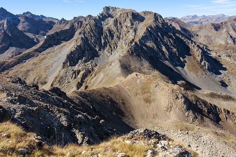 Veduta del colle di Stau dalla cima