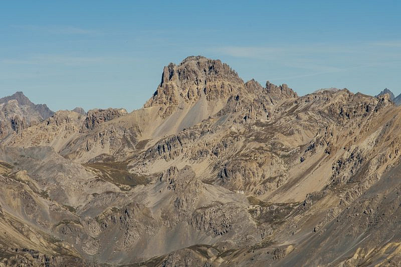 Dalla cima veduta dell'Oronaye