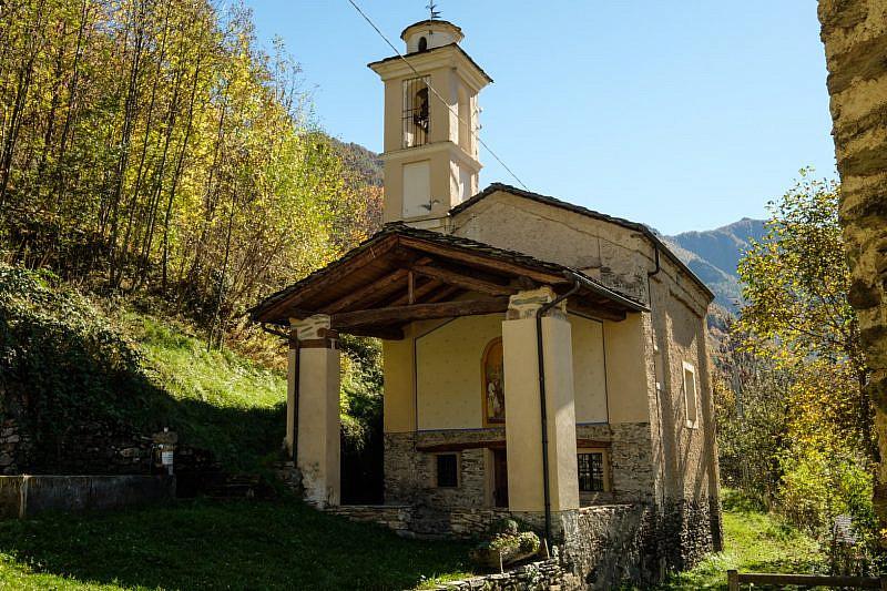 La cappella di Albornetto superiore