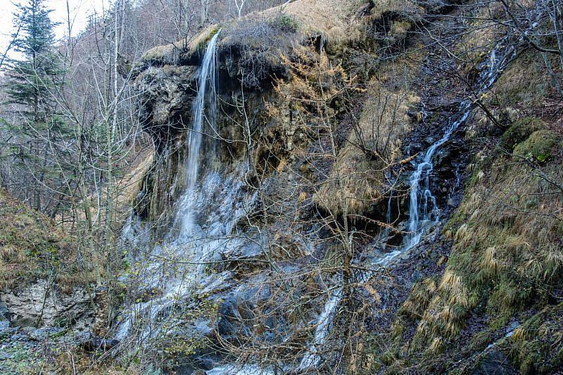 Cascata nel vallone Intersile