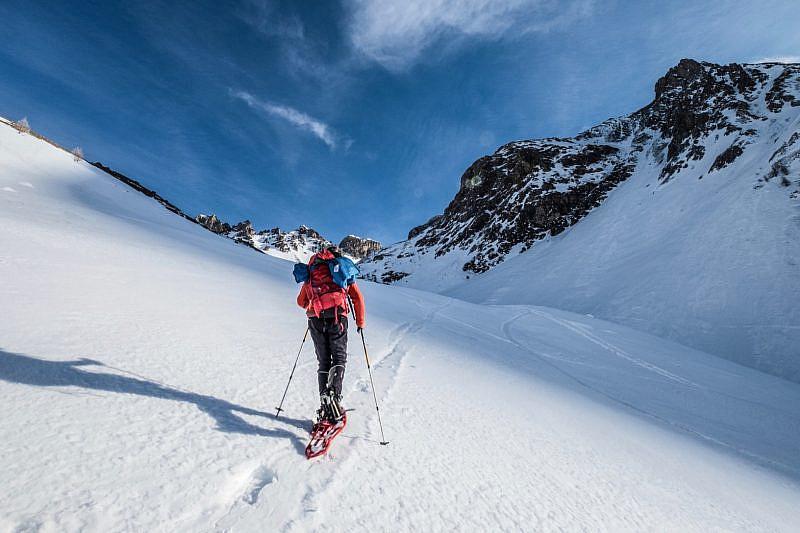 Corso di sicurezza in montagna in ambiente innevato