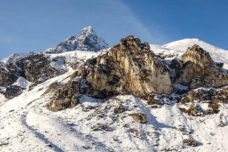 Rocca Bianca e Monviso