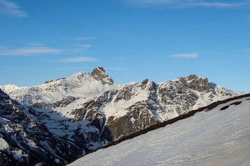 Roc della Niera, Rocca del Nigro e Rocca Bianca
