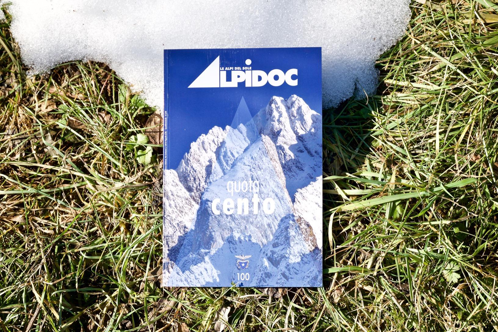 La copertina di Alpidoc 100
