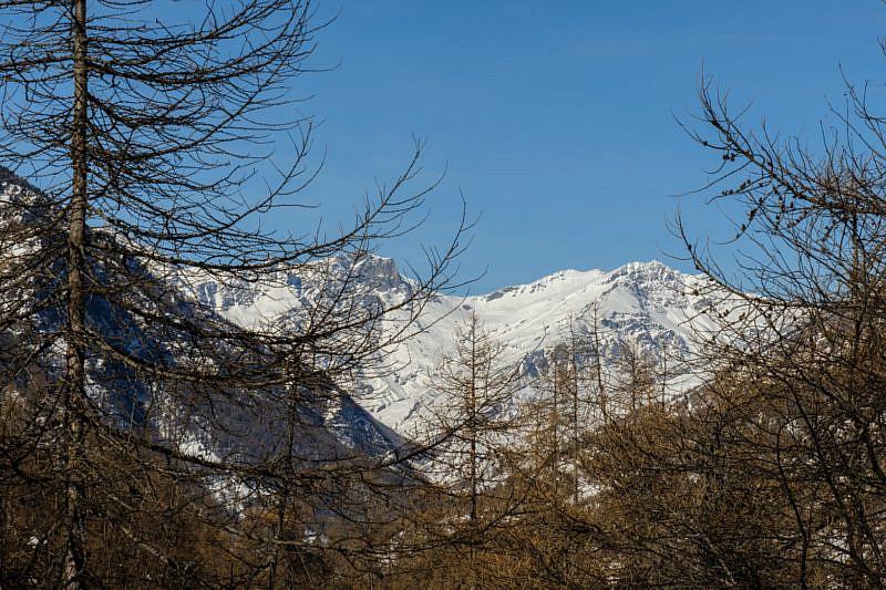 Veduta sulla parte alta della valle Varaita