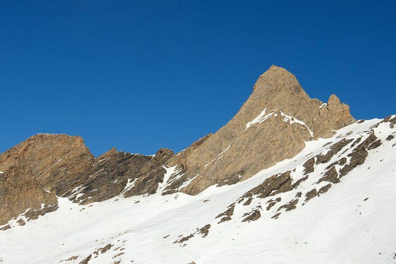 Pic d'Asti visto dalla cima