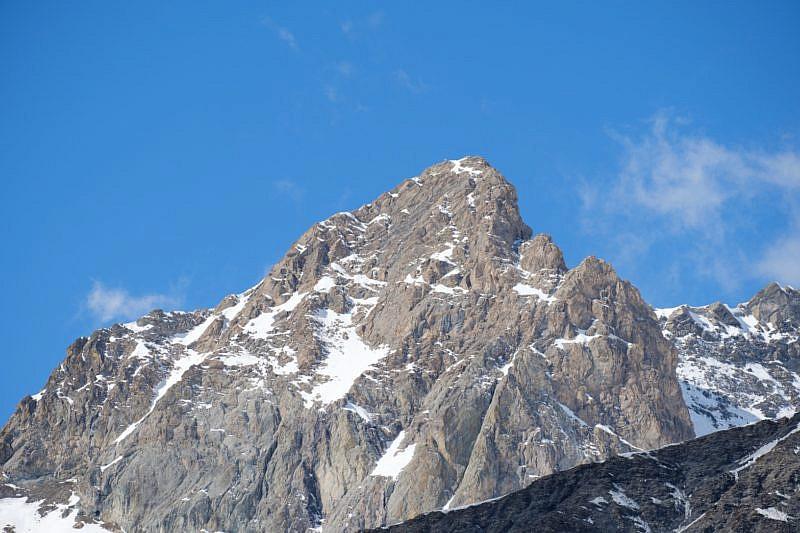 Veduta del Pelvo di Chiabrera (3152 m)