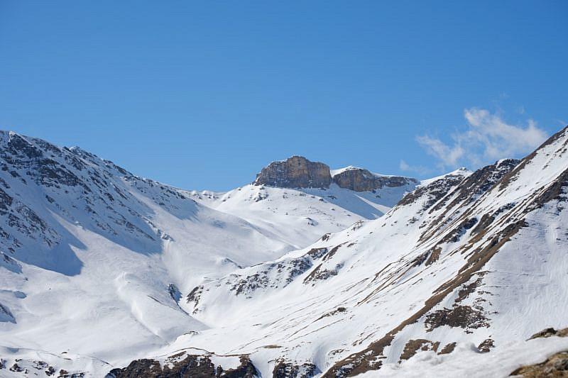 Panorama verso la bassa di Terrarossa