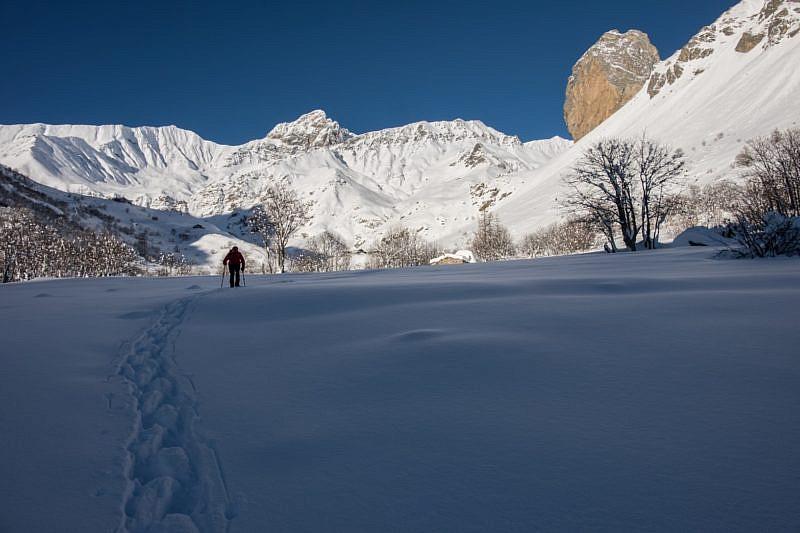 Rocca Senghi in una foto scattata nel mese di gennaio
