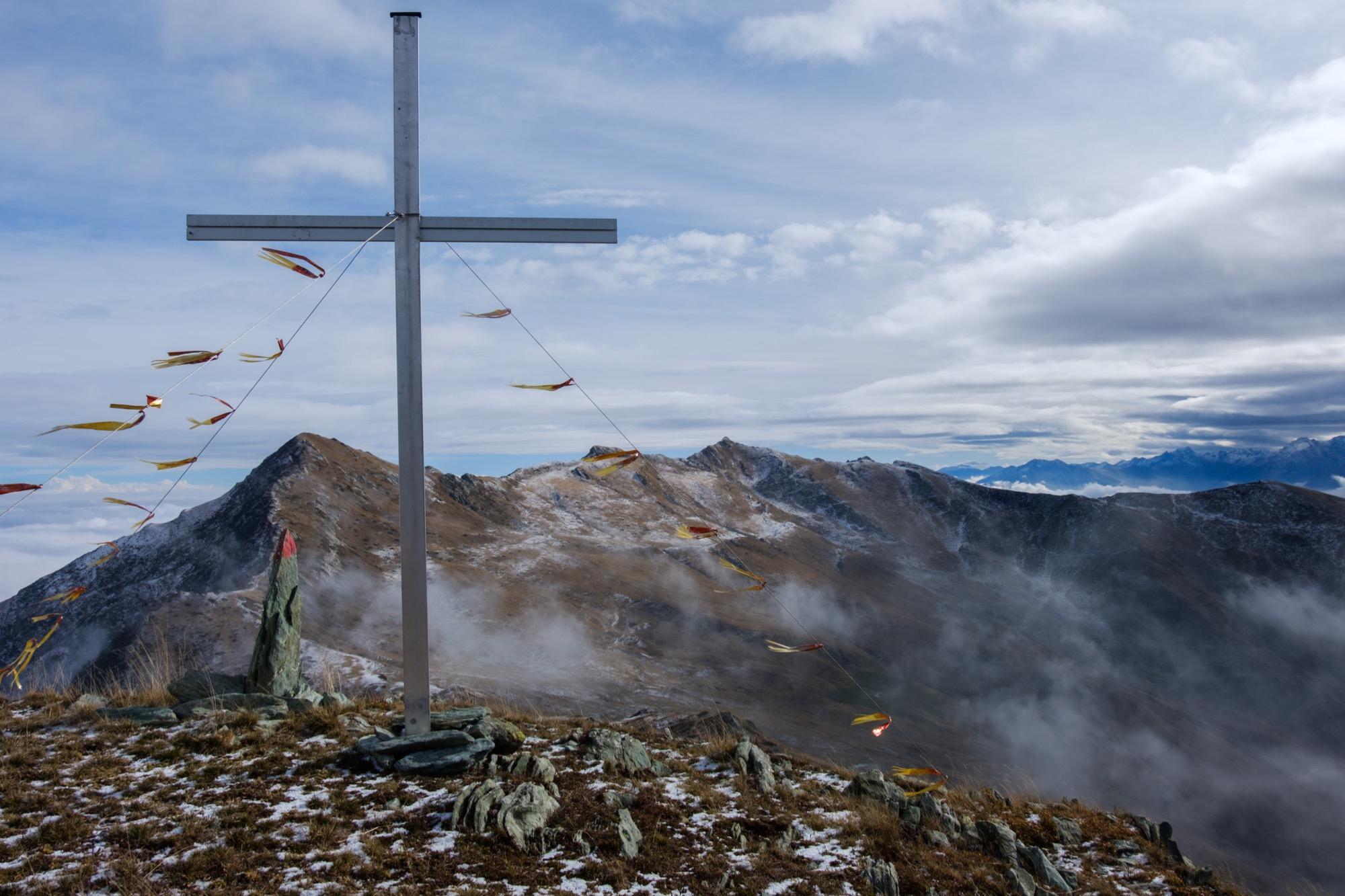 Panorama dalla croce di vetta